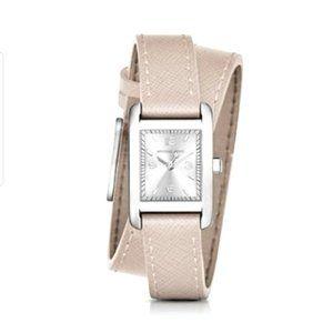 Michael Kors Women's Taylor Pink Blush Wrap Watch